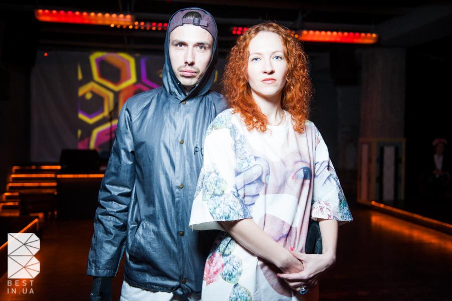 Костя Боровский с женой