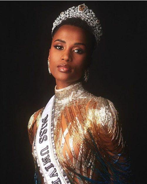 Зозибини Тунци — Мисс Вселенная 2019