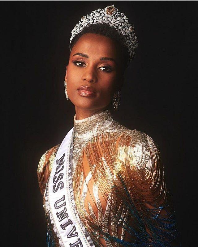 Зозибини Тунци – Мисс Вселенная 2019