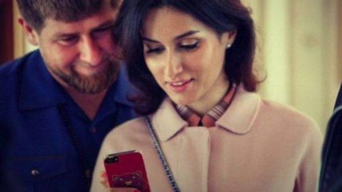 Рамзан Кадыров и Тина Канделаки