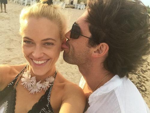 Максим Чмерковский с женой